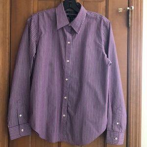 Ralph Lauren purple/black/white cotton shirt